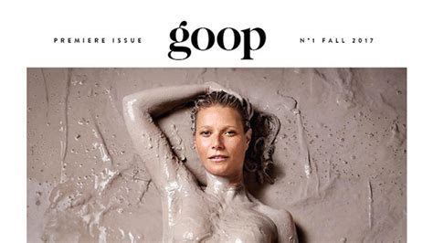 goop gwyneth paltrow cover i read every single page of the new goop magazine and if