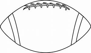 Football Outline Clip Art - Cliparts.co