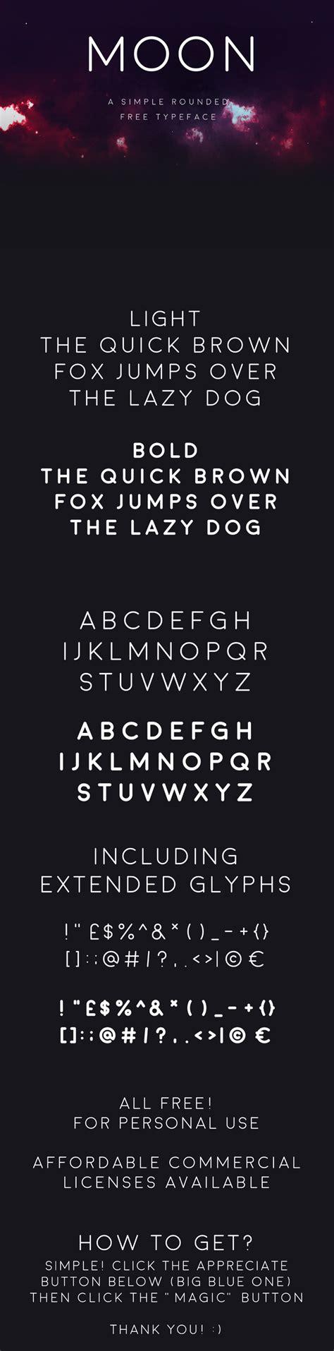 Free Moon Font