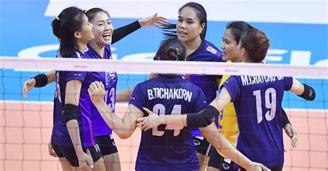 วอลเลย์บอลหญิงไทย ชนะ ออสเตรเลีย สบาย ๆ 3-0 ลิ่วรอบรองคัด ...