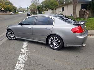 2006 Infiniti G35 Sedan Manual Transmission For Sale