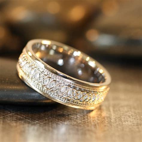 vintage mens wedding rings infinity celtic knot wedding band 14k white gold par lamoredesign 878 00 wedding ideas