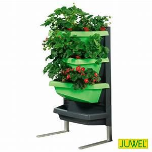 juwel vertical garden standfuss aus aluminium von gartner With katzennetz balkon mit juwel vertical garden