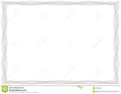 cadre de guilloche pour le certificat dipl 244 me billet de banque photographie stock image