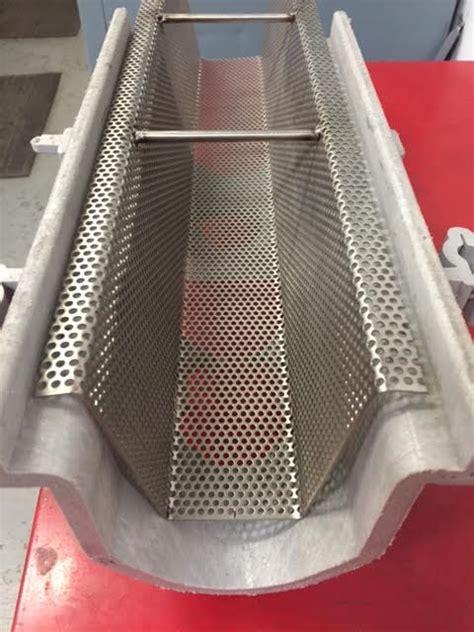 custom trench drain strainer  trough drains  floors