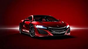 The stunning new Honda NSX in Red - Red Wallpaper