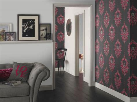 damask wallpaper elegance  todays modern homes