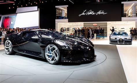 Presented at the 2019 geneva motorshow, the. Bugatti La Voiture Noire--a $12.4 million celebration of the Type 57SC Atlantic