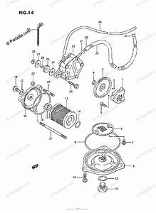 Suzuki Atv 1994 Oem Parts Diagram For Oil Pump    Fuel Pump