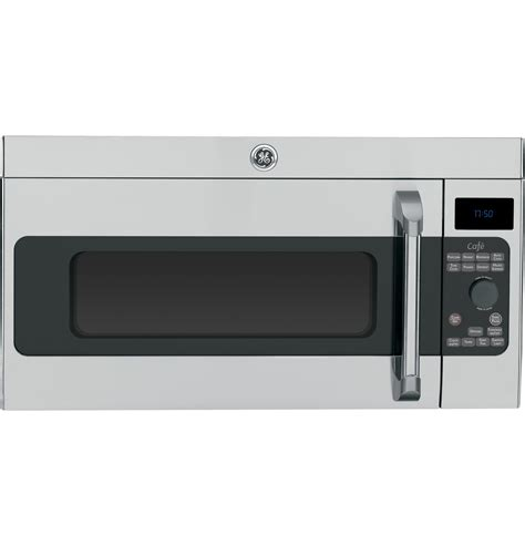general electric cvmshss  cu ft   range microwave oven   speed  cfm