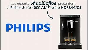 Machine À Moudre Le Café : philips serie 4000 machine caf automatique le test ~ Melissatoandfro.com Idées de Décoration