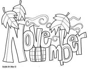november coloring pages to and print for free