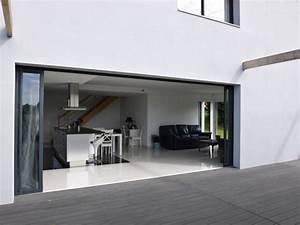 Baie Vitrée Sur Mesure : baie vitree grande largeur maison design ~ Edinachiropracticcenter.com Idées de Décoration