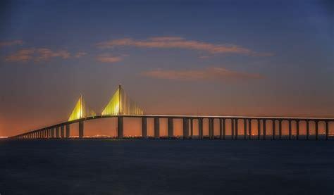 bridge skyway sunshine st petersburg florida am