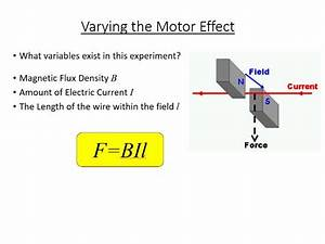 Gcse Science    Physics     Aqa P7  Motor Force    Motor