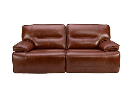 leather power reclining sofa and loveseat leather power reclining sofa at gardner white