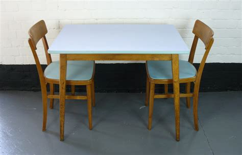 Retro Kitchen Table And Chairs Uk by 1960s Vintage Kitchen Table And Two Chairs Sold