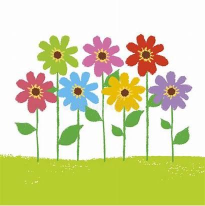 Flower Garden Clipart Gardens Clip Vector Flowers