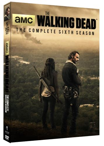 the walking dead season 6 dvd cover by whoviancriminal