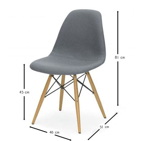 Chaise Eames Dsw Style Cover  Meubles Design