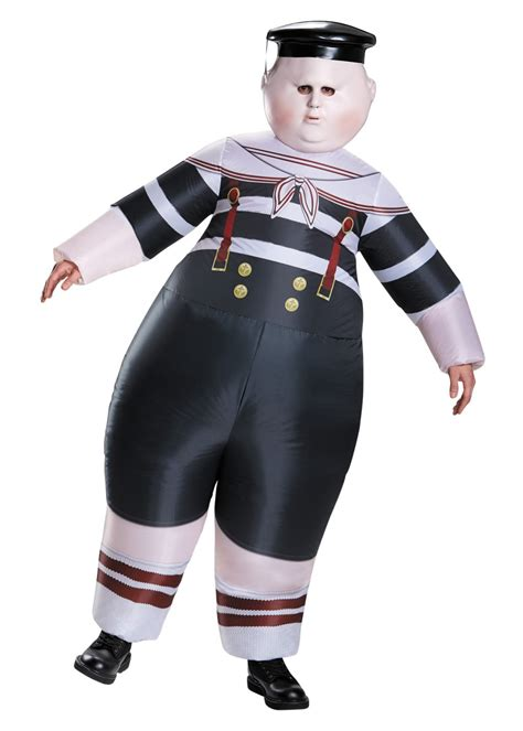 tweedle dee dum inflatable men costume funny costumes