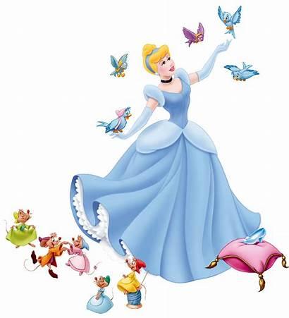 Cinderella Disney Clipart Birds Bird Clip Characters