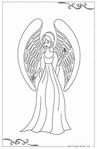 Vorlage Engel Zum Ausschneiden : engel malvorlagen und ausmalbilder als vorlage f r kinder ~ Lizthompson.info Haus und Dekorationen