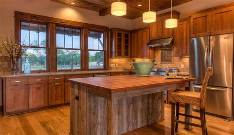 cocina rustica de madera cabanas en  cocinas