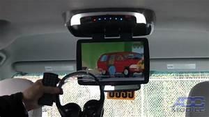 2011 Toyota Sienna  Advent Adv-49 12 U0026quot  Overhead Dvd