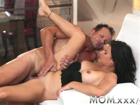 Mom Dark Haired Horny Milf With Perfect Breasts Wants Cock