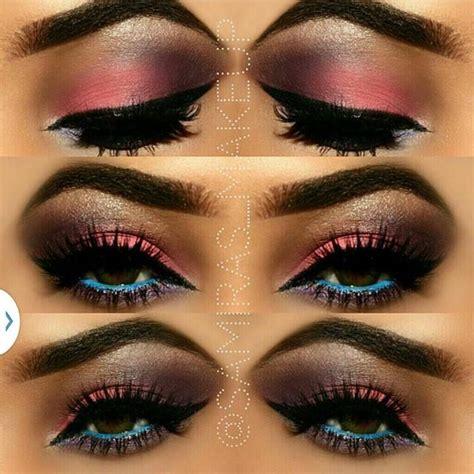 colorful makeup colorful makeup look mugeek vidalondon