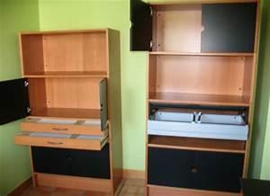 Mobilier De Bureau Ikea : meubles de bureau fly table de lit ~ Dode.kayakingforconservation.com Idées de Décoration