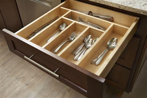 silverware drawer insert cabinet cutlery organizer