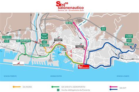 come arrivare al porto di genova mappa di genova