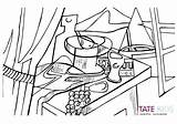 Coloring Pages Trapeze Artist Famous Getcolorings Paintings sketch template