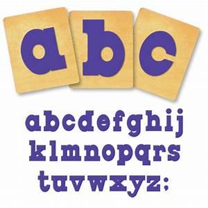 ellison surecut die set circus shadow lowercase letters With ellison die cut letters