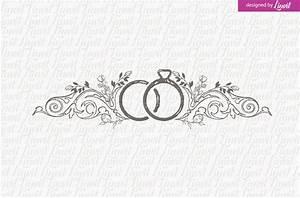 Vintage Ring Wedding Logo