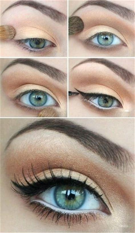 spring makeup ideas  green eyes pretty designs
