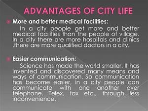 village life and city life essay