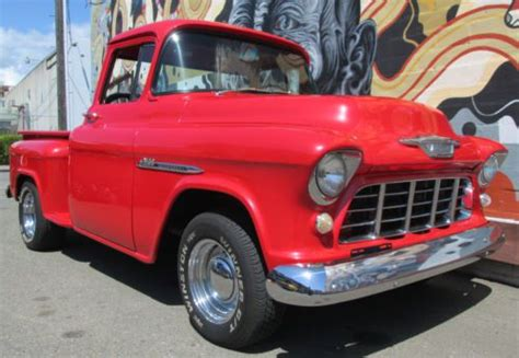 buy   chevy  big window pickup restored