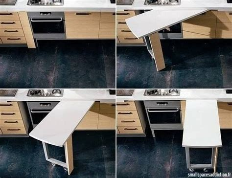 Great Idea To Get Extra Counter Space In A Small Kitchen