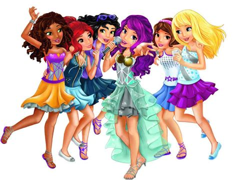 Check Out The New Lego® Friends Pop Stars Range!  Fun