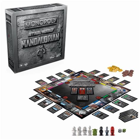 Monopoly Star Wars: The Mandalorian Edition Coming Soon ...