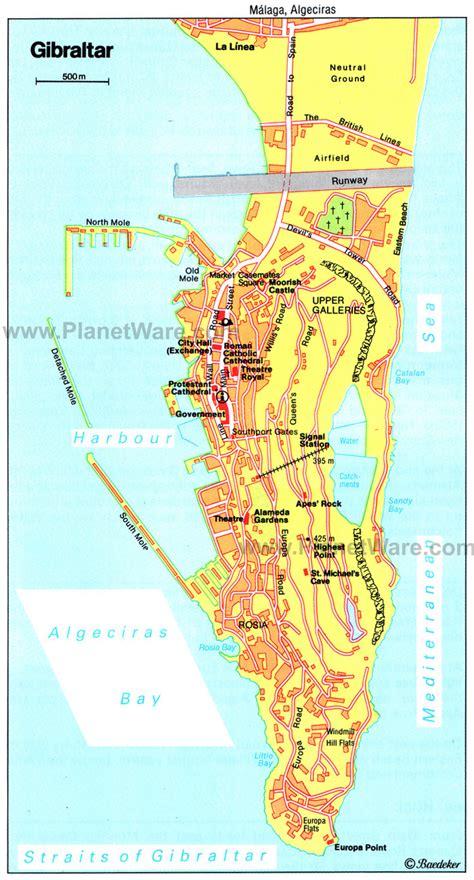 road map  gibraltar gibraltar road map vidianicom