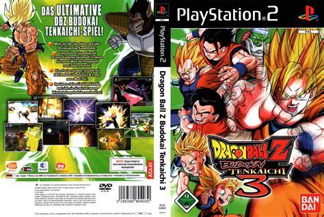Dragon Ball Budokai Tenkaichi 3 Ps2
