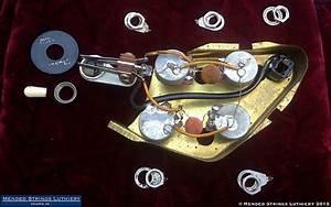 Original 1970 Gibson Sg Standard Wiring Harness Pots
