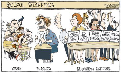 week  education cartoon education experts    row