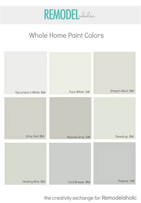 picking paint colors for entire house remodelaholic choosing a whole home paint color