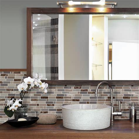 wall tile ideas for bathroom carrelage adhésif pour salle de bain smart tiles