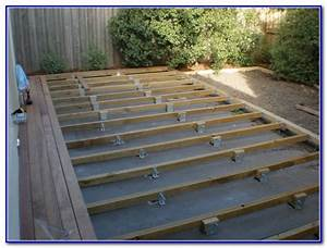Building a floating deck over concrete patio icamblog for Building a patio deck